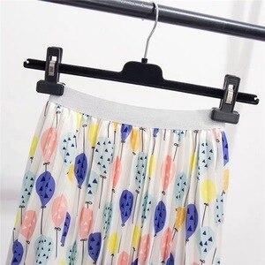 Image 3 - Marwin jupe plissée pour femmes ballon frais imprimé, nouvelle collection été 2019, jupe plissée pour femmes, ligne a, rue, Style européen, mi mollet