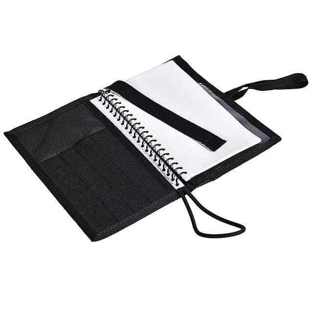 Deluxe Onderwater Notebook Duiken Log Boek Met Waterdichte Papier Pagina S Makkelijk Te Maken Note Zwart