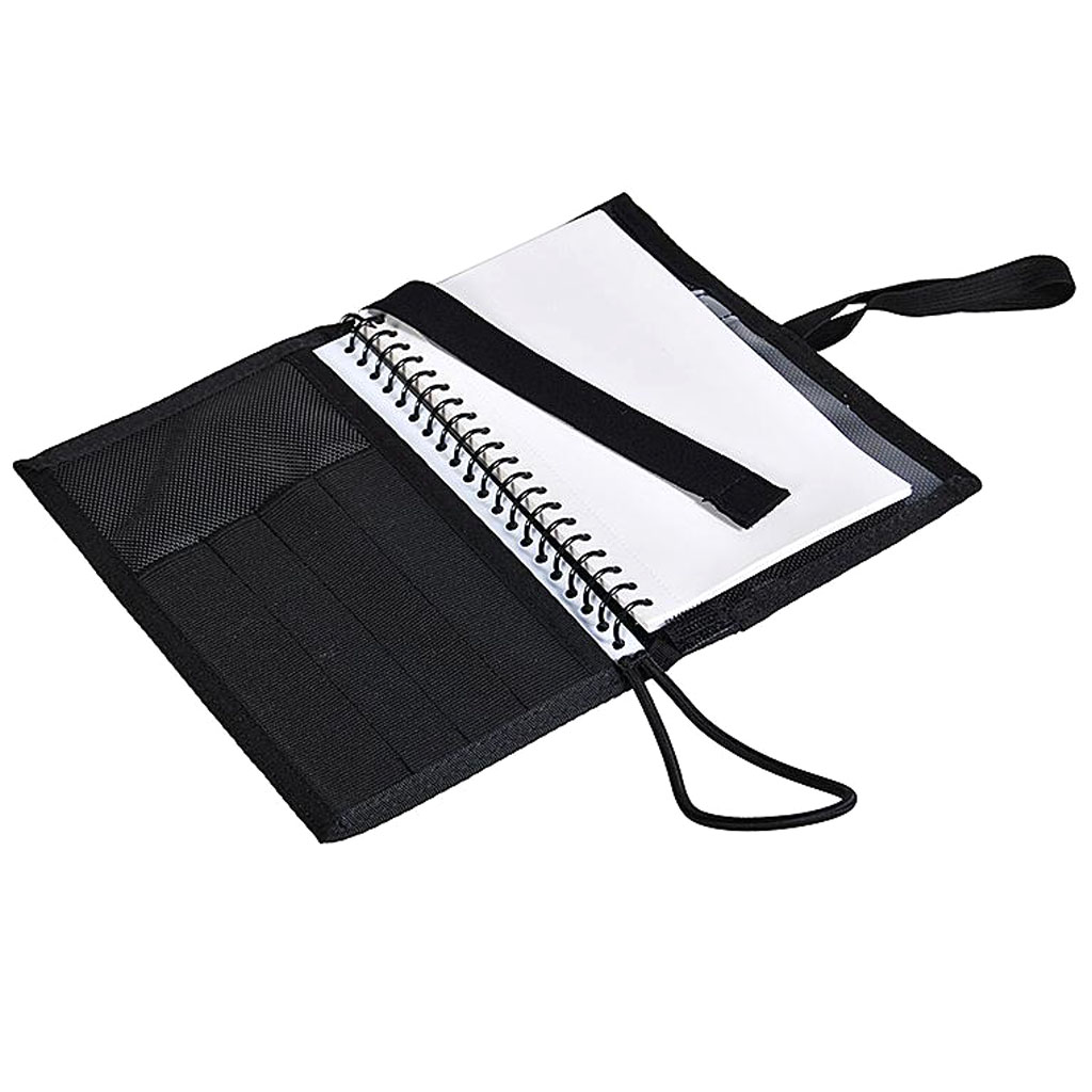 Deluxe Underwater Notebook, Scuba Diving Log Book With Waterproof Paper Pages, Easy To Make Note