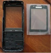 PHIXFTOP מקורי קדמי דיור עם זכוכית לפיליפס X5500 נייד שיכון עבור Xenium CTX5500 טלפון נייד