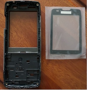 Image 1 - PHIXFTOP original front housing with glass for Philips X5500 Mobile housing for Xenium CTX5500 phone cellphone