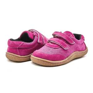 Tipsietoes Fabric-Shoe Sneaker Barefoot Toddler Girls Baby Boys Kids Genuine-Leather
