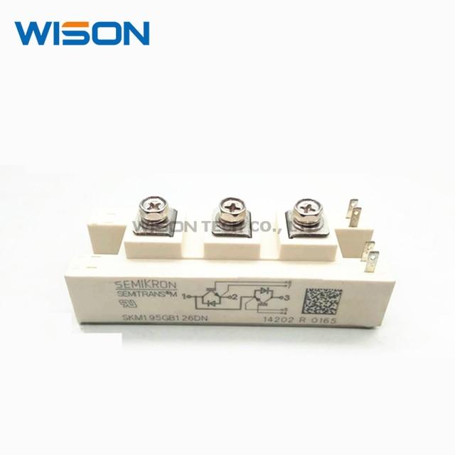 SKM195GB126DN SKM100GB125DN SKM145GB128DN SKM145GB128DNR شحن مجاني جديدة ومبتكرة IGBT وحدة
