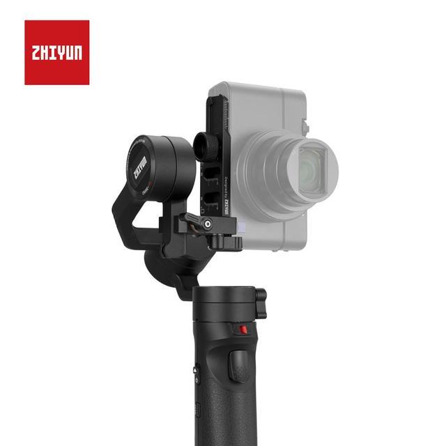 Zhiyun plaque de montage verticale officielle pour Zhiyun grue M2 stabilisateur de cardan à main 3 axes