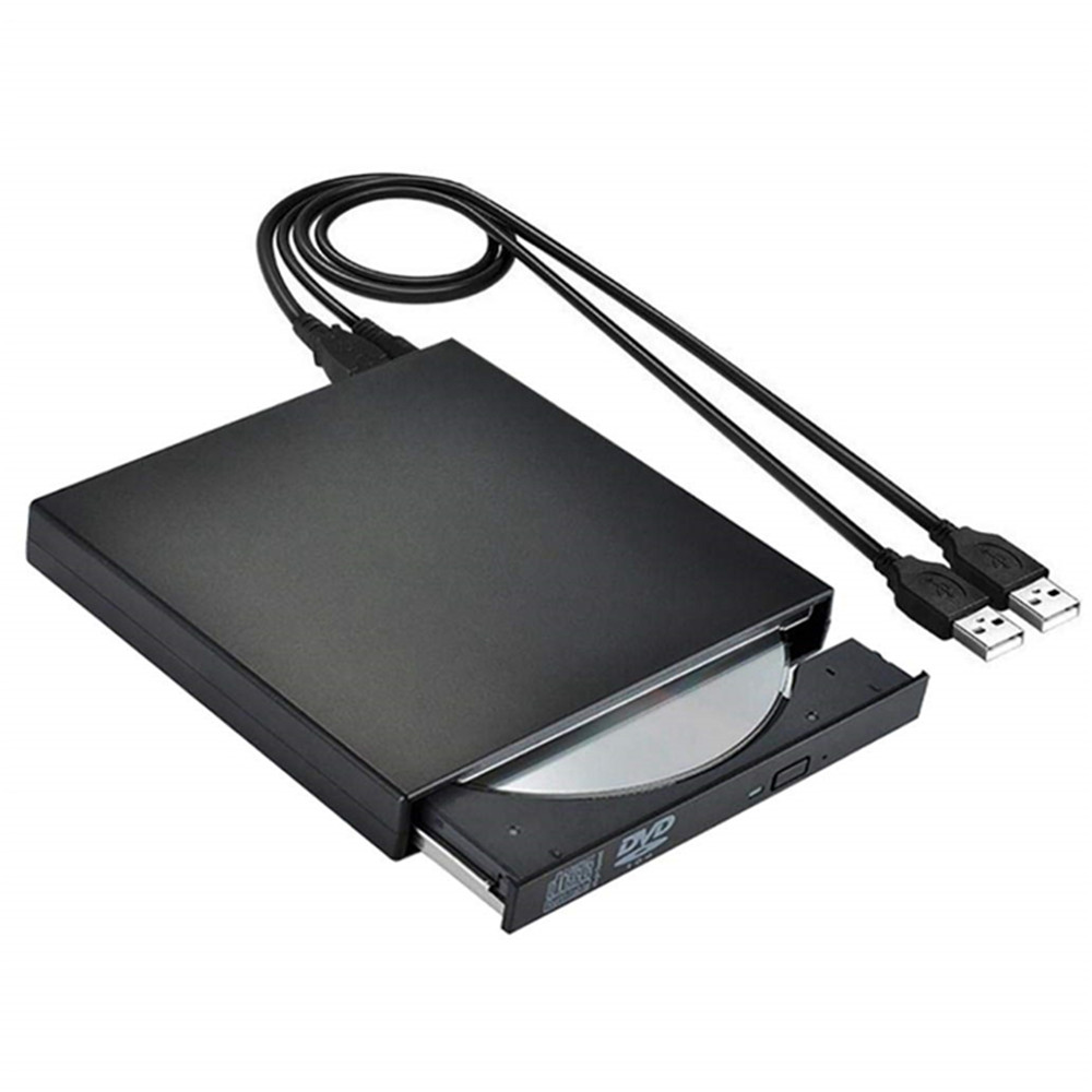 External DVD Drive Optical Drive USB 2.0 CD ROM Player CD-RW Burner Writer Reader Recorder Portatil For Laptop Windows PC