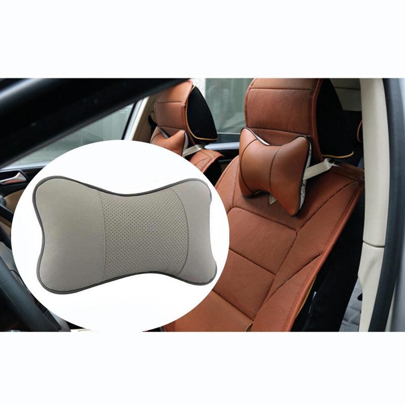 1 PC Neck Pillow Bone Car Care Car Auto Seat Head Neck Rest Cushion Headrest Pillow Pad Headrest Neck Pillow Seat Cover Pillow