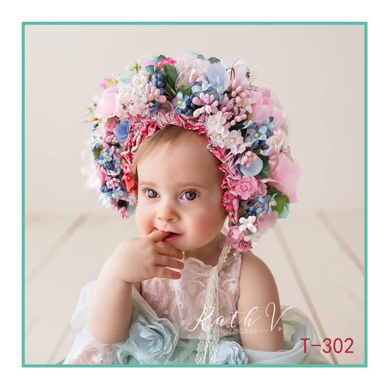 Newborn Headcrown Photography Props,baby Handmade Headband Photography Props