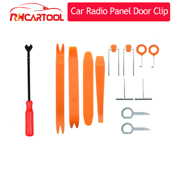 12pcs/7pcs/4pcs Car Audio Maintenance Kit Auto Trim Repair Panel Remover Pry Bar Car Dash Radio Door Trim Panel Clip Hand Tools image