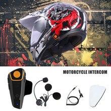 2020 versão BT-S2 1000m 30 ipx7 à prova dwaterproof água capacete de moto bluetooth fone ouvido sem fio da motocicleta bluetooth intercom para motocicleta