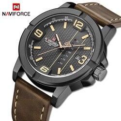 NAVIFORCE Watch Men New Top Luxury Brand Watches Men's Big Dial Sport Wristwatch Waterproof Quartz Male Clock Relogio Masculino