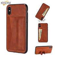 KISSCASE Card Pocket Case For iPhone 11PRO MAX Cover 6S 7 XR XSMAX 8 For iPhone 7Plus Funda 8Plus XS 11 Coque 11PRO 6 X Capinhas