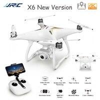 JJRC Aggiornato X6 Aircus Professionale RC GPS Drone Con 4K WiFi Della Macchina Fotografica FPV il Mantenimento di Quota Follow Me RC Brushless elicottero Drone