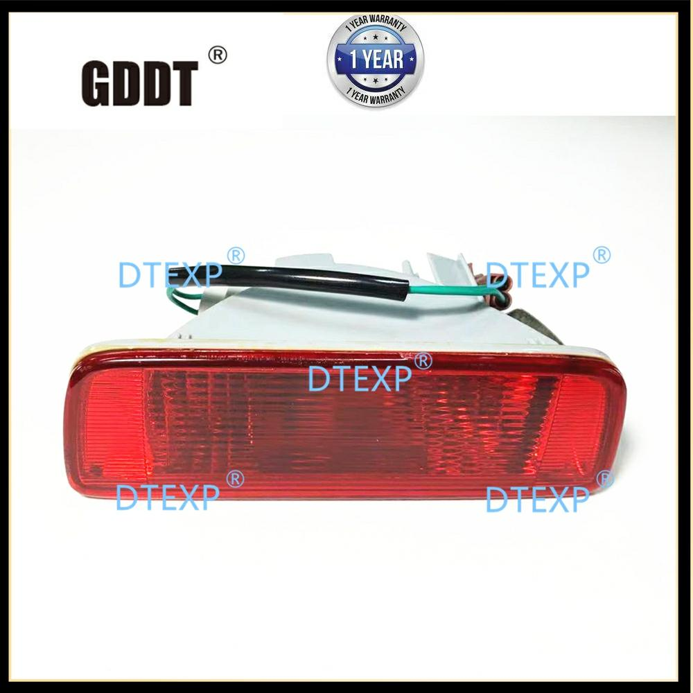 8337A092  Rear Bumper Light With Bulb FOR OUTLANDER SPORT Tail Fog Lamp For ASX RVR  2010-2017 Rear Fog Lights Reflector