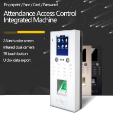 Face Recognition Access Control Attendance Access Control Integrated Machine  Fingerprint  Attendance Machine TCP/IP Network USB