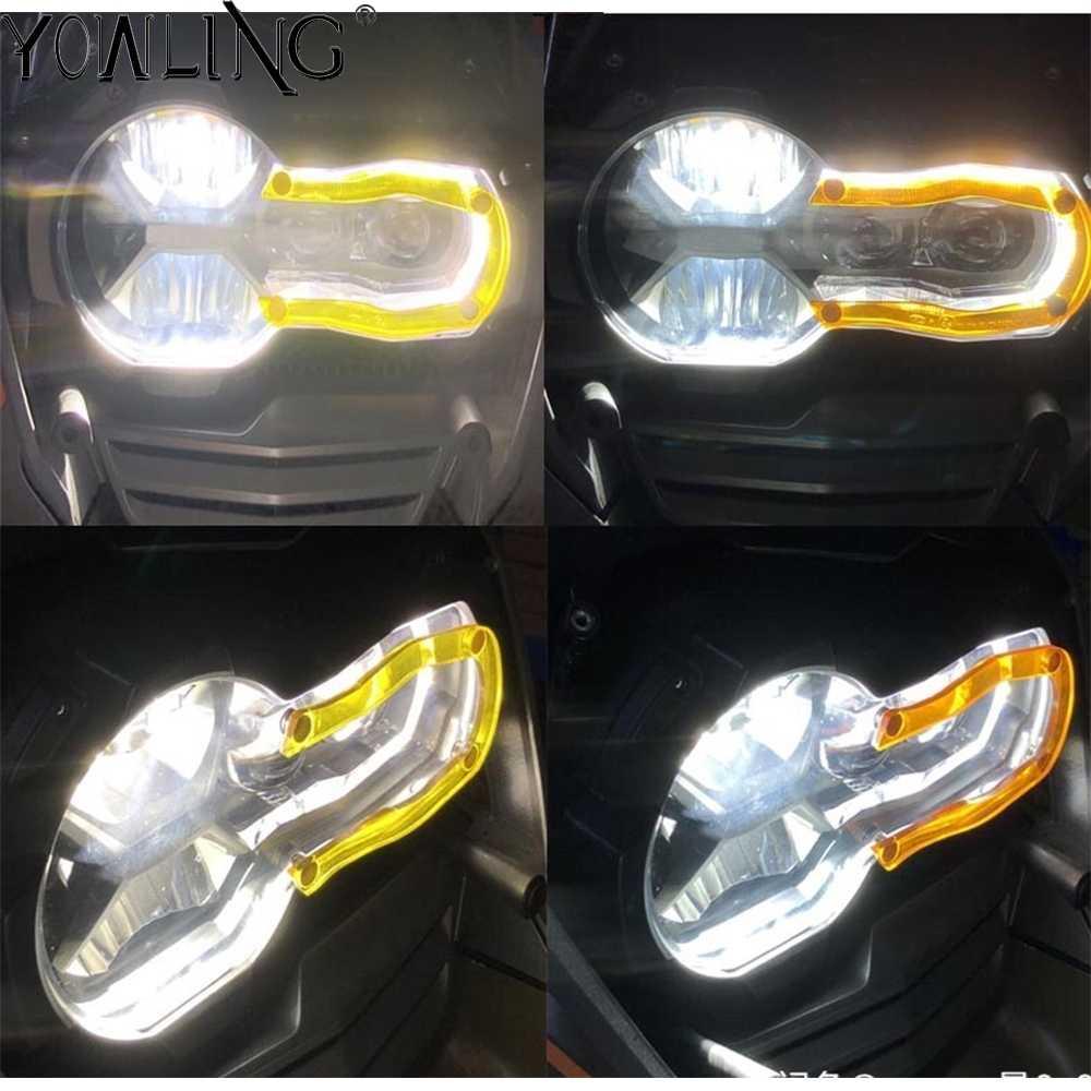 """R1200GS R1250GS Moto אביזרי LED בשעות היום ריצת אור כיסוי עבור BMW R1250GS הרפתקאות R 1250 GS R 1200 GS LC r1200GS עו""""ד"""