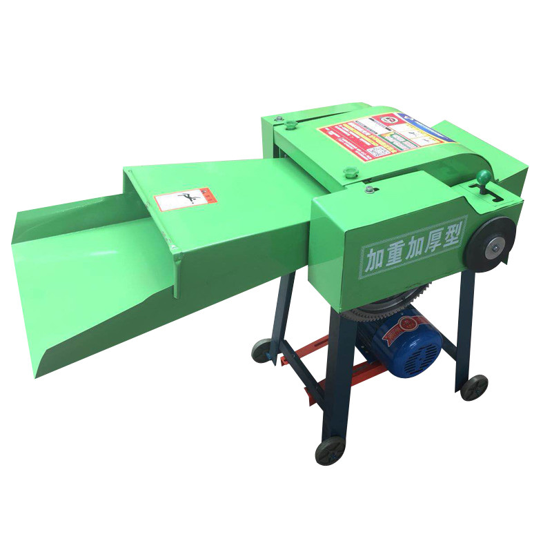 Household Small Dry-Wet Dual-Use Hay Straw Cutter 2800rpm Forage Crop Crusher 3KW Cattle And Sheep Feed Processing Machine 220V/