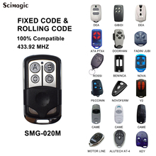 цена на V2 TRC TXC TSC4 HANDY V2 Phoenix2 Phoenix4 DEA DITEC KEY Garage Door Gate Remote Control Replacement Duplicator 433mhz 433.92mhz