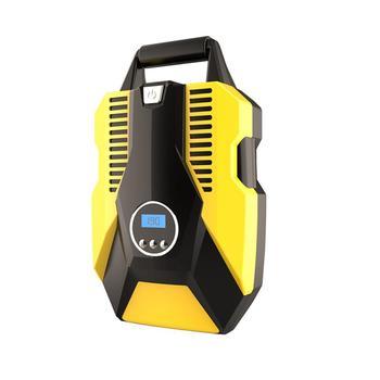 Inflador de neumáticos Digital LED, bomba de compresor de aire portátil cc 12 voltios para coche, 150 PSI, compresor de aire para neumático de coche, bicicleta, motocicleta