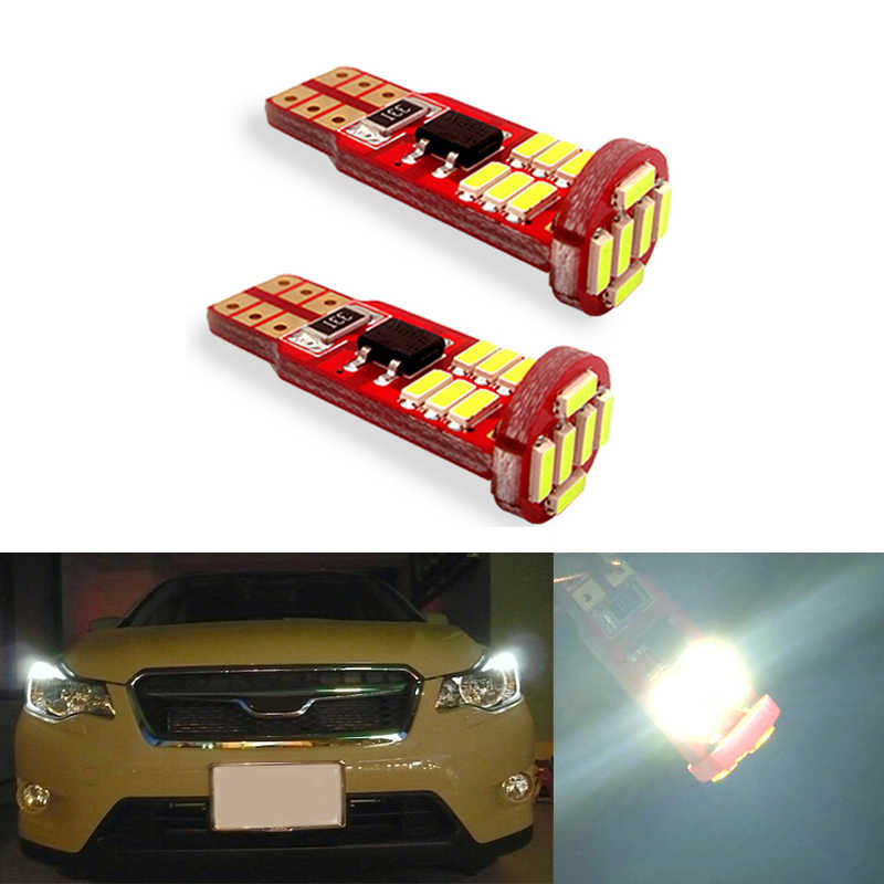 2x Canbus Led T10 W5w Clearance Parking Light Wedge Light For Subaru Impreza Legacy Xv Forester Outback Tribeca Fiat Signal Lamp Aliexpress