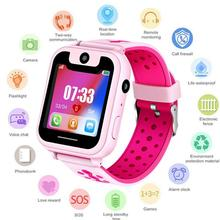 S6 children's smart watch 1.44 touch screen watch waterproof student card smart positioning watch phone positioning все цены