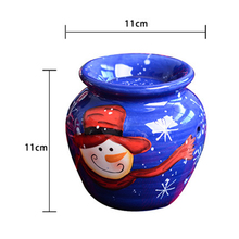 European Aroma Burner Candle Holder Candlestick Vase Crafts Gifts Home Decoration Ceramic Candle Holder Dropshipping S24 yung mom s24