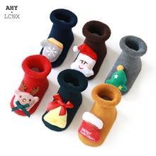 Baby Socks Non-Slip Toddler Girl Newborn Infant Children's Boy for 0-3-Years Christmas-Doll