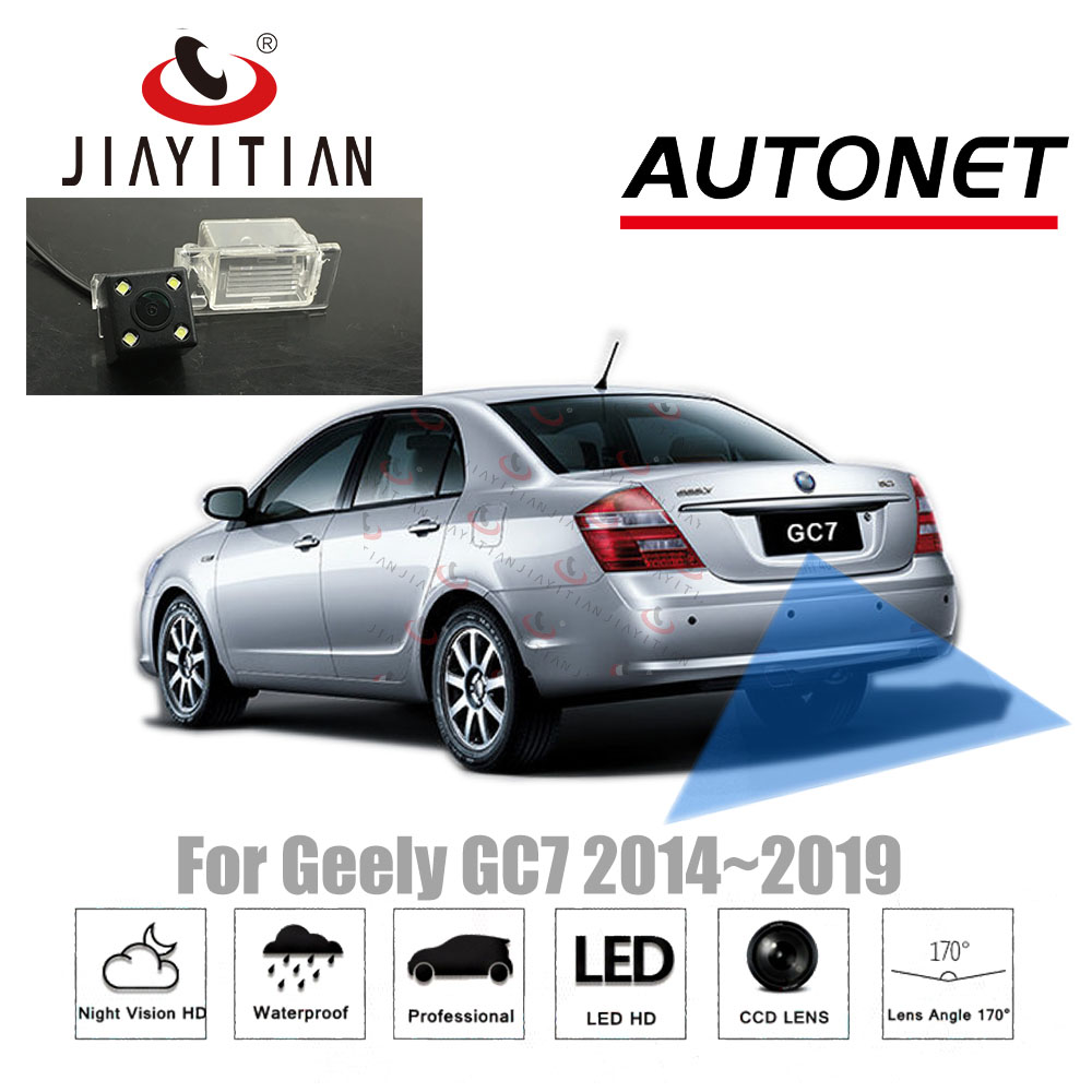 JIAYITIAN Rear View Camera For Geely GC7 2014 2015 2016 2017 2018 2019/CCD/Night Vision/Backup Reverse Camera