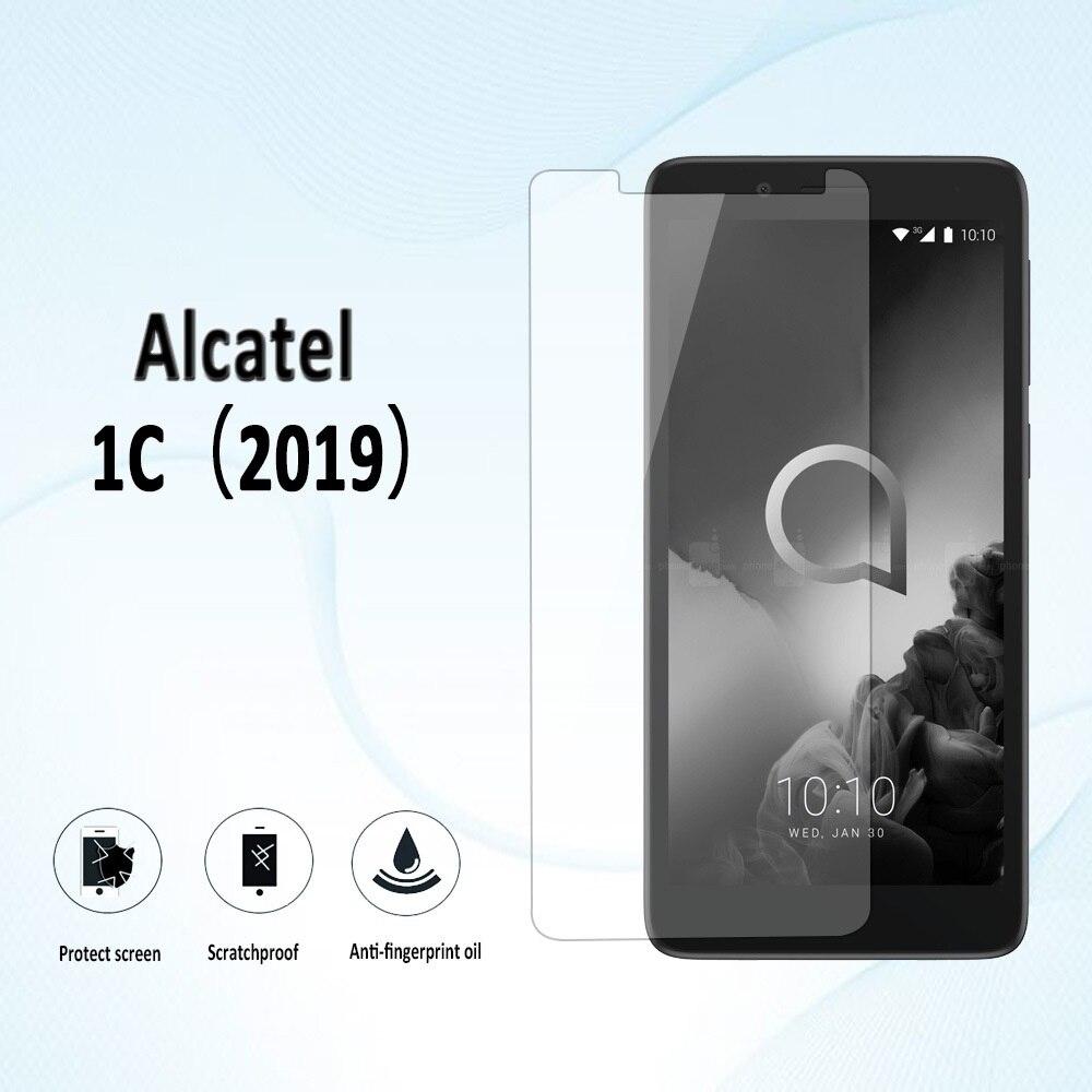 For Alcatel 1C 2019 5003D Alkatel Alcatel1C 5003 D 5.0 Screen Premium Tempered Glass Anti Shatter Toughened Protector Film