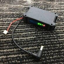 7.4 v 18650 li ion celular bateria caso dc5.5 * 2.5 para fatshark fpv óculos de vídeo fone de ouvido sem bateria rc zangão
