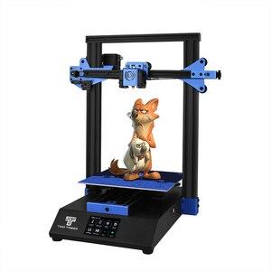 Image 1 - Twotrees 3D מדפסת כחולים יותר 230*230*280mm מקצועי DIY הדפסה כוח כישלון הדפסה חממה I3 מדפסת עם BMG מכבש