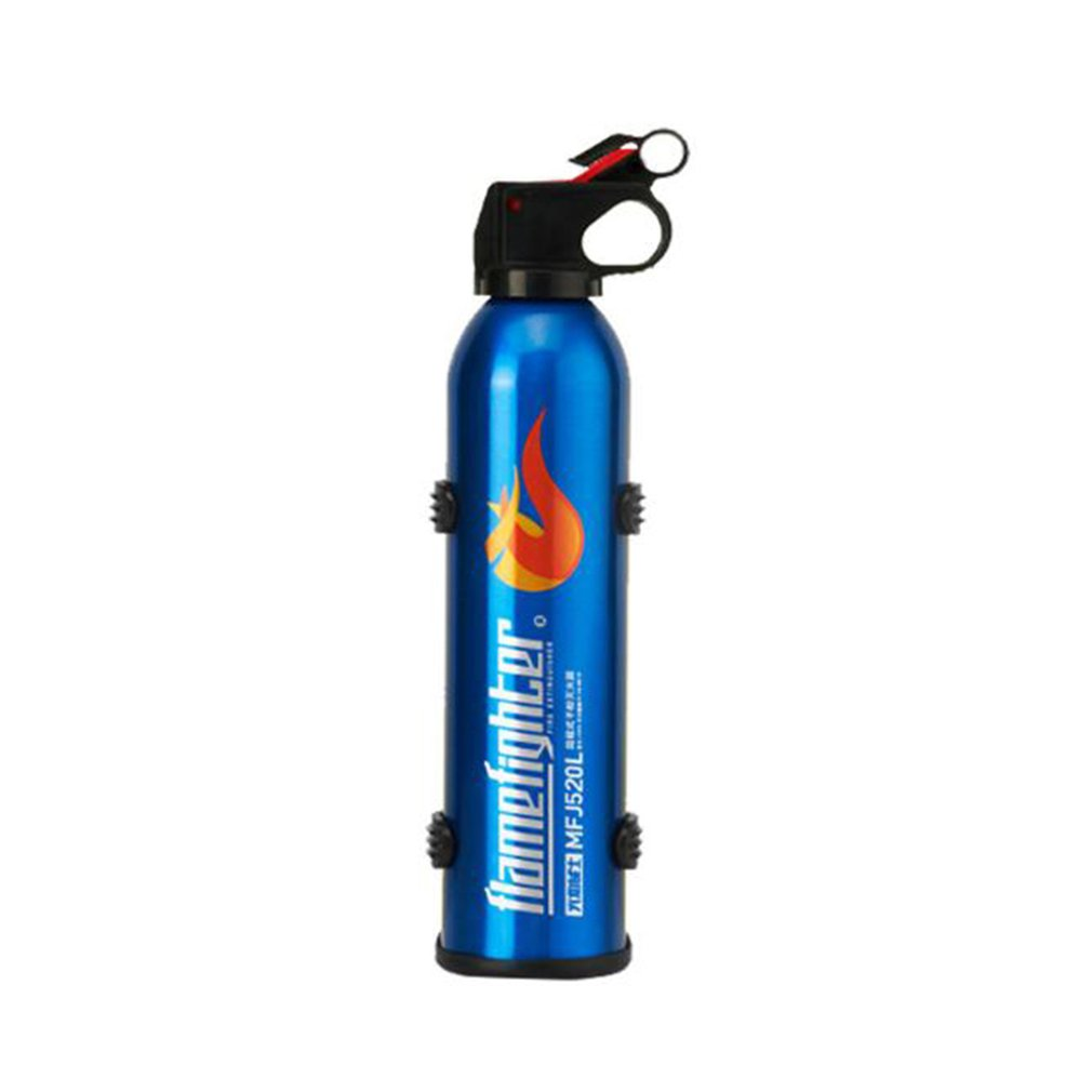 Mini Portable 0.8Mpa Car Fire Extinguisher With Hook Dry Chemical Fire Extinguisher Safety Flame Fighter For Home Office Car