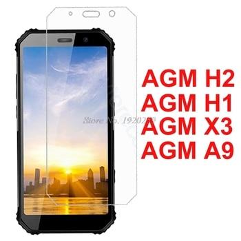 Перейти на Алиэкспресс и купить 2 шт. для AGM A9 H1 X3 стекло для смартфона 9 H Высококачественная Защитная Прозрачная пленка Взрывозащищенная защитная пленка AGM H2 стекло