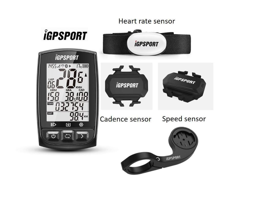 Igpsport IGS50E Ant + Gps Bluetooth Fiets Draadloze Stopwatch Snelheidsmeter Cycling Bike Computer Ondersteuning Waterdicht