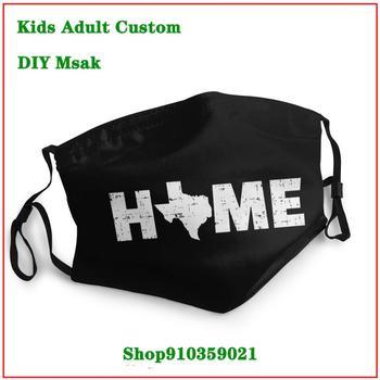 Latest popularity Texas Home masque en tissu lavable enfant mouth mask reusable mask mascara protectora facial lavable
