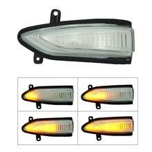 Dinámico LED luz de giro espejo lateral indicador secuencial para Nissan Altima Teana L33 2013-2018 sylfia Sentra Pulsar Tiida