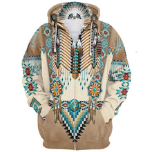 Indian Nation Element Series 3d Sweater Printing Even Hoodie