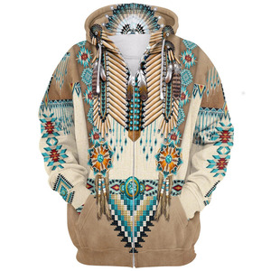 Indian Nation Element Series 3d Sweater