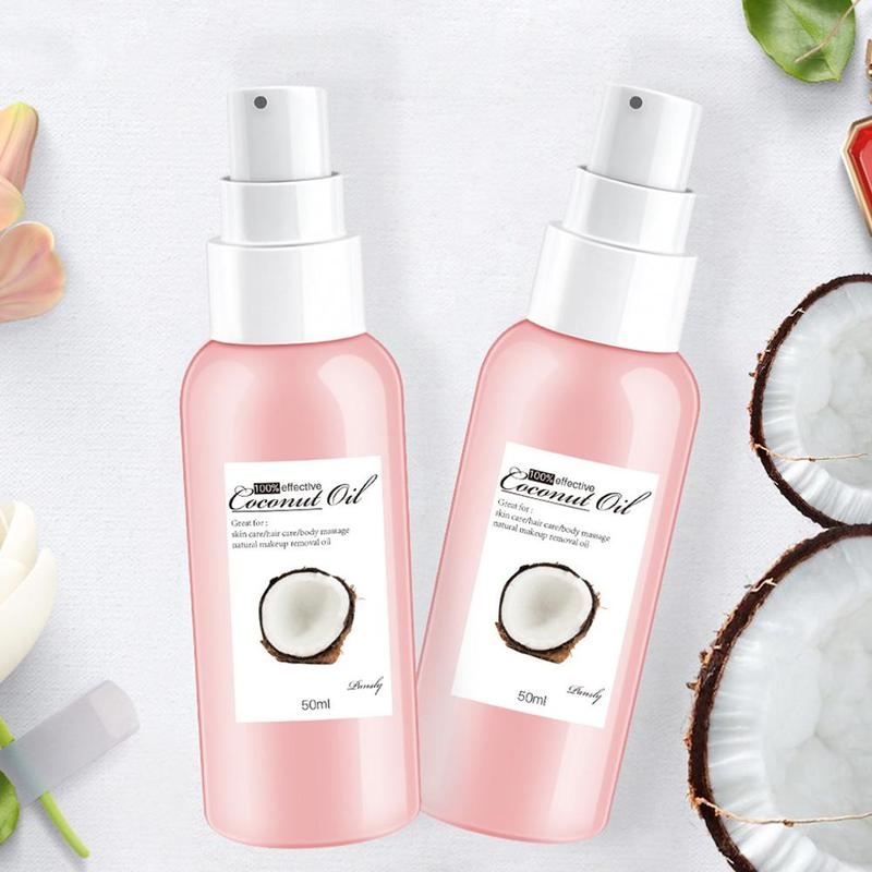Organic Extra Virgin Coconut Oil Body Massage Relaxation Oil Cold Pressed Coconut Oil For Skin Hair Care Makeup Remover