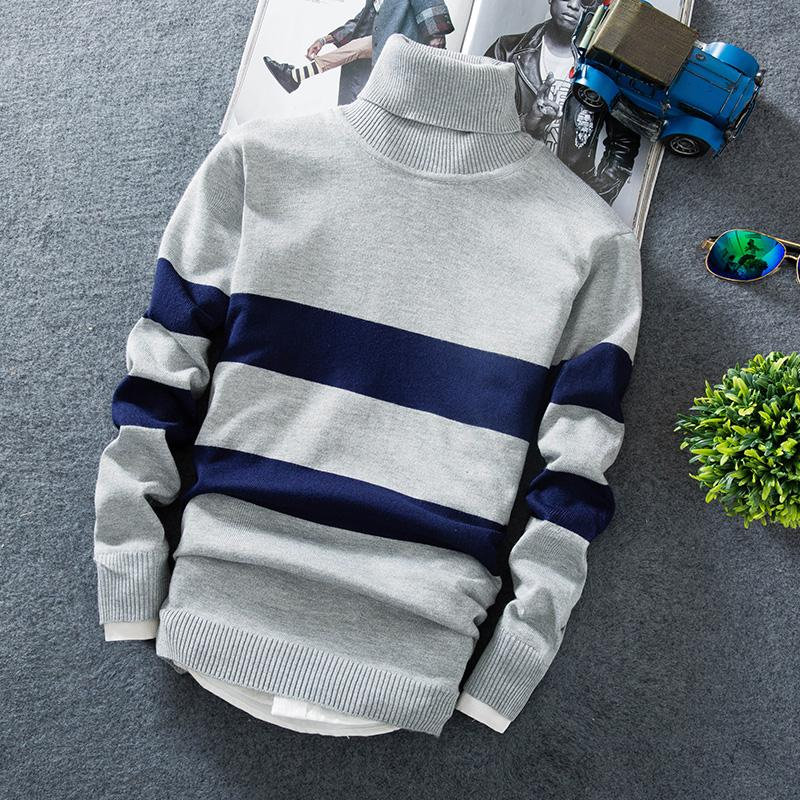 Cashmere Pullover Men 2020 New Fashion Turtleneck Thin Sweater Autumn Mens Sweaters Casual Men's Knitted Sweaters