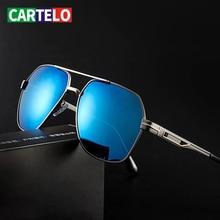 CARTELO New Sunglasses Men Polarized Outdoor Casual Sunglasses Men's Glasses Driver Driving Toad Mirror Driving Special UV400