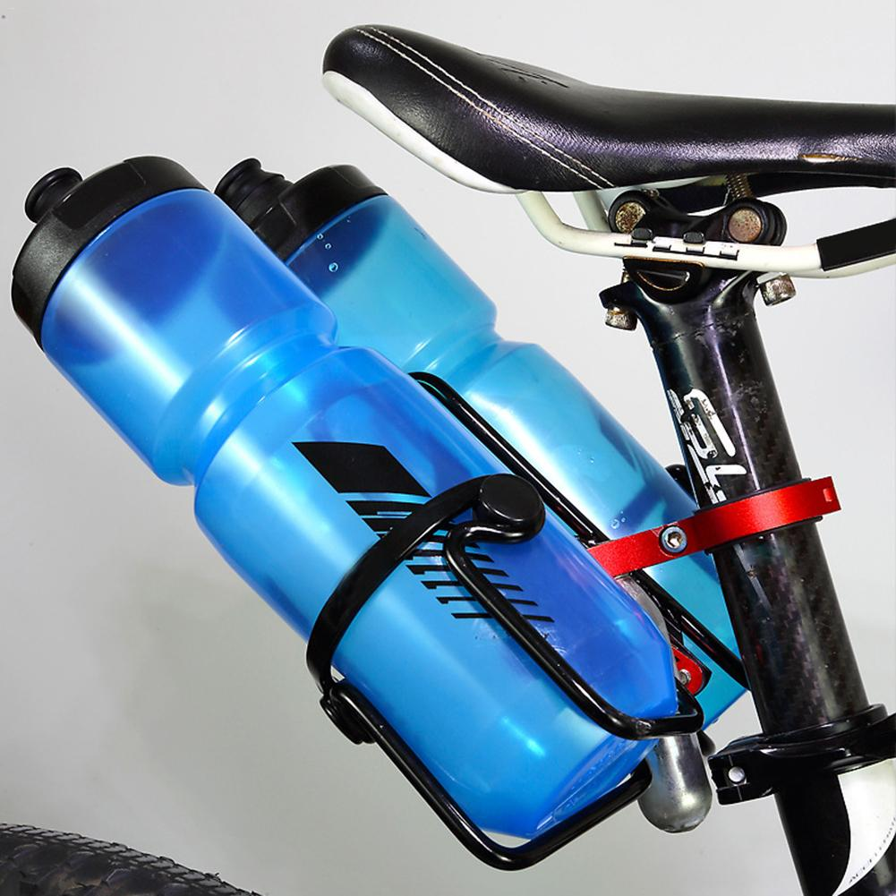 VS2# Bicycle Kettle Rack Adapter Bike Handle Bar Clamp Water Bottle Holder Br