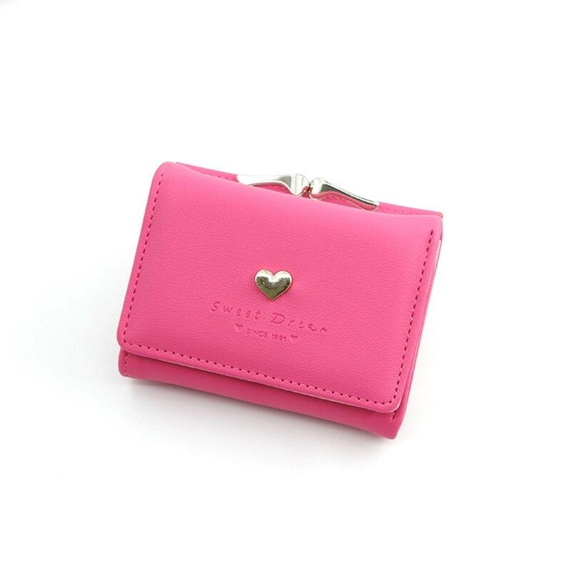 Bolsa de cartões para mulheres, mais nova carteira pequena roxa de desenho animado para meninas, bolsa de moedas azul, 2020