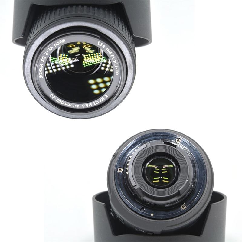 VERWENDET NIKON AF S DX NIKKOR 55 200mm f/4 5,6G ED VR II Objektiv (99% NEUE)