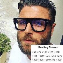 Gafas de lectura cuadradas de gran tamaño Unisex, mujeres y hombres, lupa óptica, diseñador de marca de lujo, gafas Lesebrille