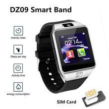 Dz09 Смарт часы 2020 женские bluetooth dail sim карта Шагомер