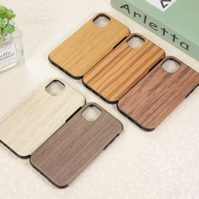 RainMan Retro Wood Case for iPhone 11/11 Pro/11 Pro Max 15
