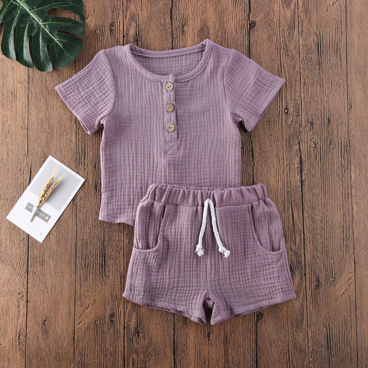 Toddler Kids Baby Boys Autumn Casual Clothes T-shirt Tops/&Pants Outfit 2Pcs Set