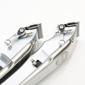 Image 3 - Kiki newgain NG 106 NG 107 all metal recarregável máquina de cortar cabelo com guia pente conjunto 6500 motor e barbeiro aparador de cabelo sem fio