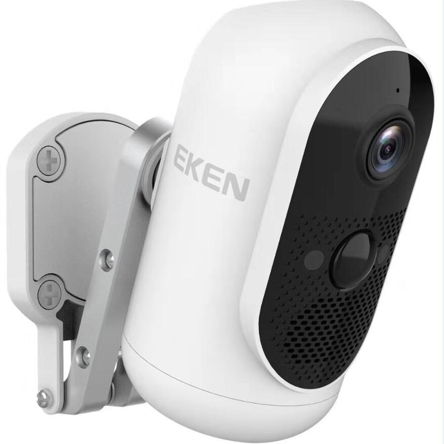Original Eken Argus 1080P FUll HD Rechargeable Outdoor Battery Powered IP65 Waterproof WiFi IP Security Camera App Control