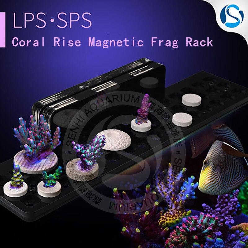 senhi biotech coral rise magnetic frag racks reef tank coral frag racks